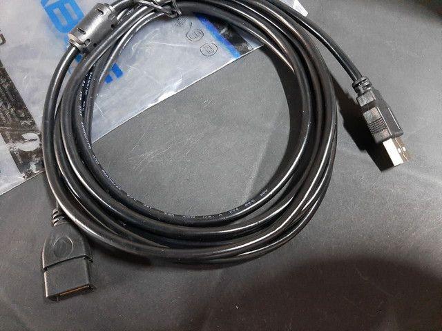 Adaptador USB macho X femea - Foto 3