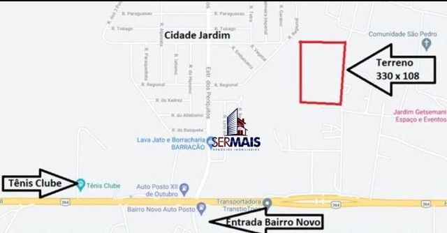 Terreno à venda, 35 m² por R$ 800.000 - Área Rural de Porto Velho - Porto Velho/RO - Foto 3