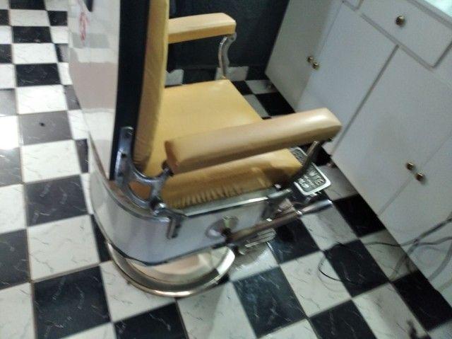Cadeira ferrante inclinavel modelo 1970  - Foto 2