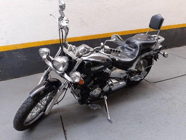 Yamaha drag star  2005 com 65.400KM - Foto 6