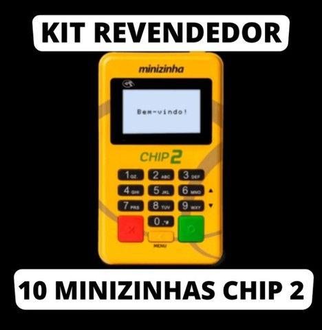 10 minizinha chip2 em atacado, novas