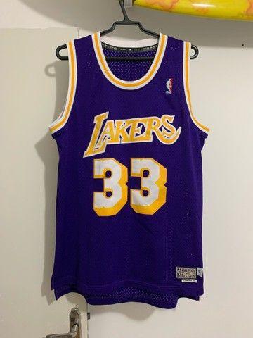 Camisa Lakers- Retrô