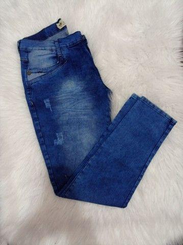 Calça Jeans Masculina novas em Promoção - Foto 3