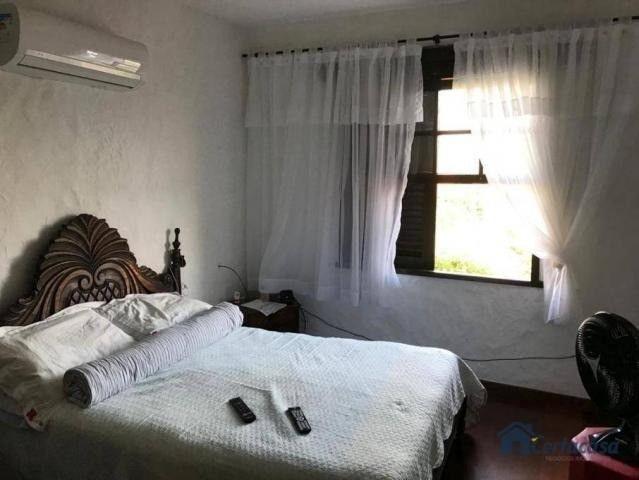 Duplex com 04 quartos  sendo 01 edícula, árvores frutíferas, vista para a lagoa. - Foto 7