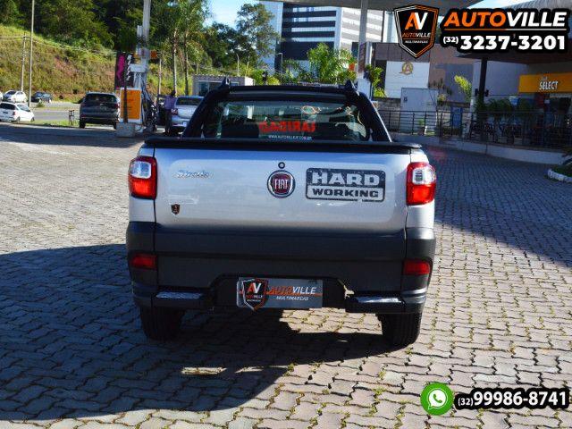 Oportunidade*Strada Hard Working 1.4 Flex Cabine Simples*44Mil Km Rodados - 2020 - Foto 4