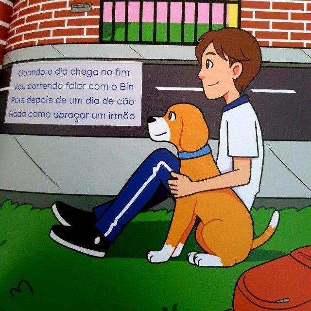 Livrinho infantil: O Cachorro Bin - Foto 2