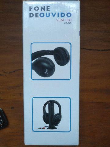 Fone de ouvido sem fio 5 em 1 - Knup Model KP-323 - Foto 3