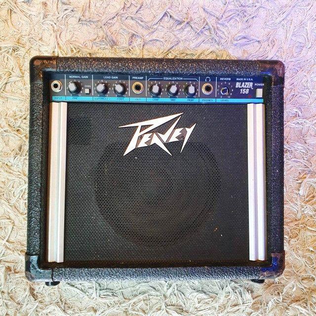 Amplificador para Guitarra Peavey Balser 158 USA - Usado - Somos Loja