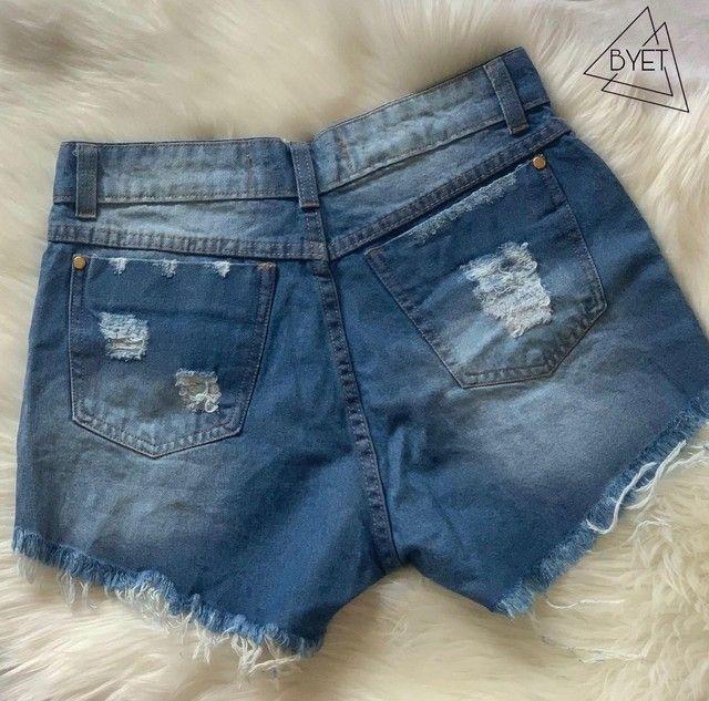 Short Jeans - Tam 40 - Foto 2