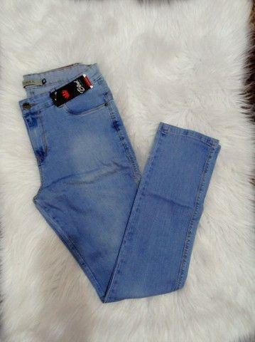 Calça Jeans Masculina novas em Promoção - Foto 4