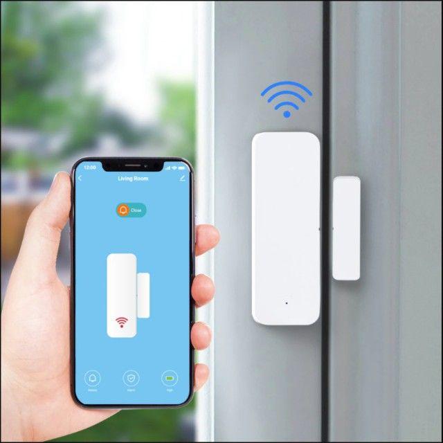 Sensor Inteligente Wifi Porta Janela Alexa Google Home Ds06 - Foto 5