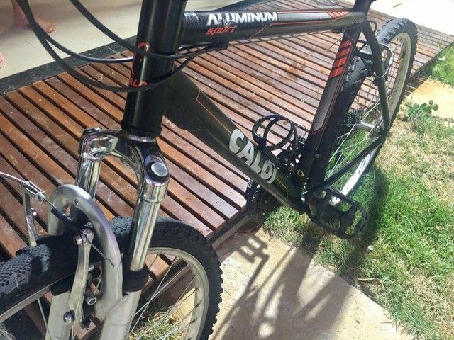 Caloi Aluminium Sport 1 seminova - Foto 5