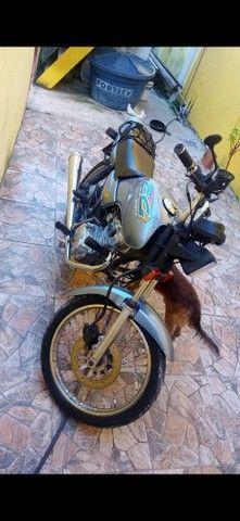 Moto CG 125 em dias com todos os Documentos - Foto 4