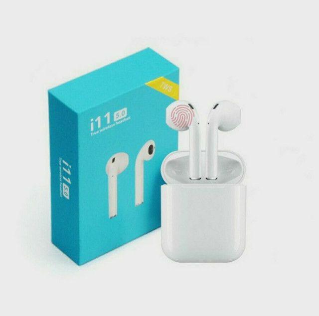 Fone sem fio Bluetooth I11 - Foto 3