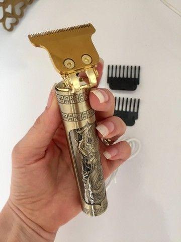 Maquina de acabamento T9 - A queridinha dos barbeiros!  - Foto 2