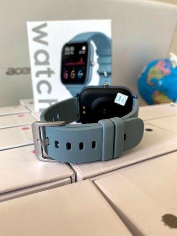 Relógio Smartwatch Colmi P8 Azul - Foto 3