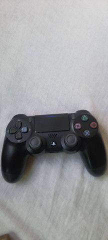Playstation 4 1TB 12 jogos aceito cartão  - Foto 3