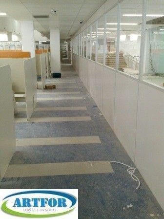 Divisórias para Call Center, Divisões de Ambientes Provisórios em Divisórias Eucatex. - Foto 5