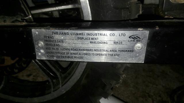 Moto infantil a Gasolina 2T/ 50cc