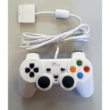 Controle Joystick Feir c/fio PSOne, PS2
