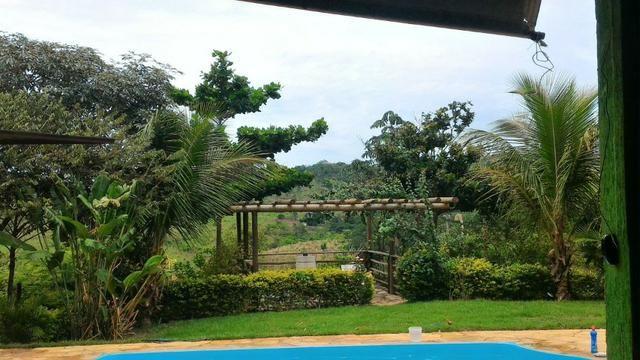 Chácara de 10.000m² no Corumbá III. Casa, piscina aquecida, área de lazer c/ churrasqueira - Foto 9