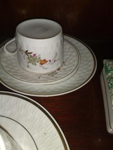 Xícaras de porcelana