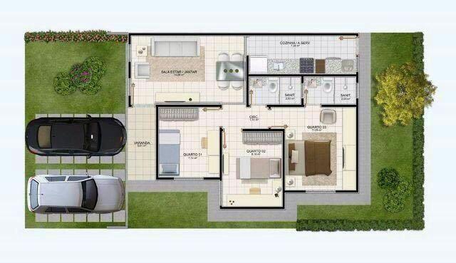 Casa com 3/4 e uma suíte no Sim - Foto 8