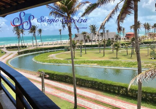 Aquaville vista mar : Apartamento no Porto das Dunas todo projetado 2 quartos, belíssimo!