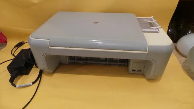 Impressora hp photosmart c 3180 scanner copiadora funcionando sem cartuchos! - Foto 5