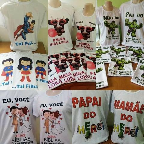 c87ea4275 Camisetas e produtos personalizados