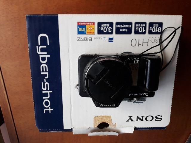 Sony Cybershot DSC-H10 8.1MP Câmera digital com zoom óptico de 10x Com Super Steadyshot