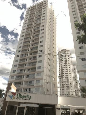 Apartamento 3 quartos 1 suíte 2 vagas garagem Liberty Parque Amazônia Cascavel - Foto 3