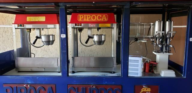 Carrinho, treinzinho, trailer de Churros e Pipoca - Foto 3
