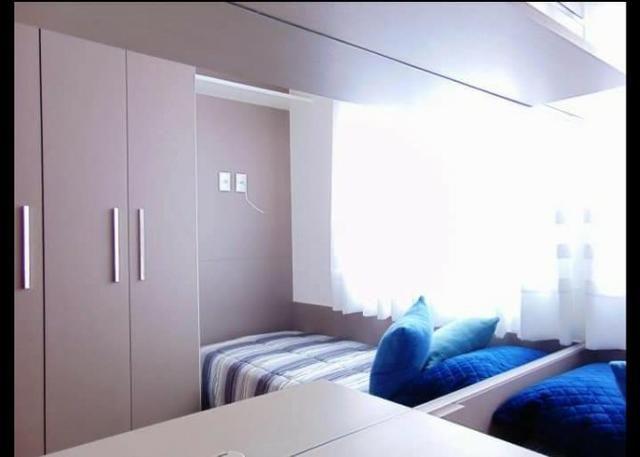 Apartamento 3 dormitórios em colombo, visite nosso decorado - Foto 3