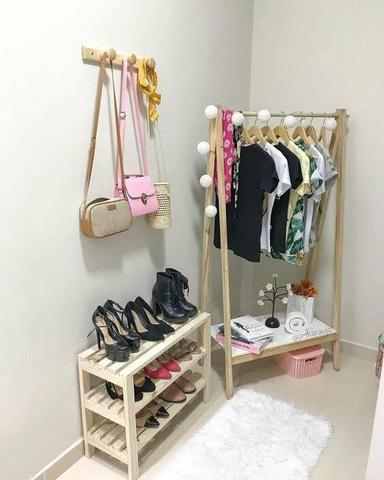 Araras para roupas e closets - Foto 3