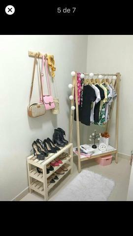 Araras para roupas (fábricação própria) - Foto 6