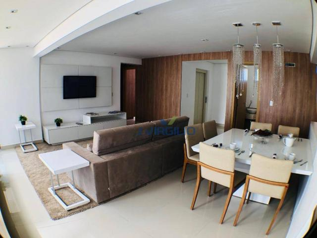 Apartamento com 3 suítes à venda, 117 m² por r$ 620.000 - jardim goiás - goiânia/go - Foto 7