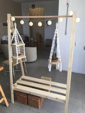 Araras para roupas (fábricação própria) - Foto 2