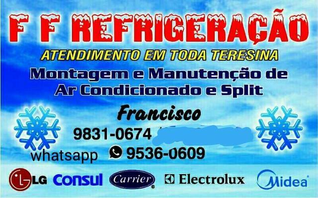 Instalação de split a partir de 150 reais