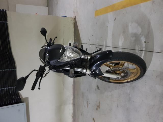 Vendo moto Honda CB300 Flex 2015 Preta - Foto 2