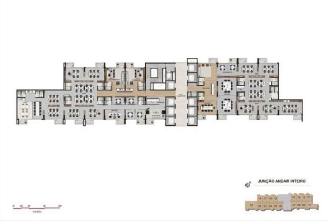 Escritório para alugar em Vila homero thon, Santo andré cod:SA00007 - Foto 11