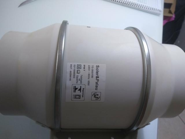 Exaustor de banheiro TD-500 - Foto 3