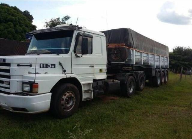 Scania 113 basculante