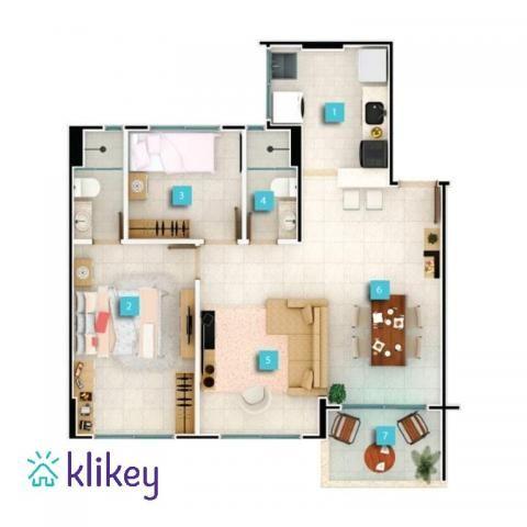 Apartamento à venda com 3 dormitórios em Passaré, Fortaleza cod:7995 - Foto 14