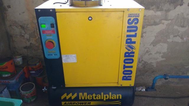 Compressor Parafuso Metalplan 6 Hp - Foto 2