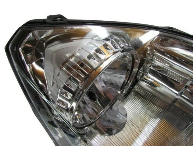 Farol Fiesta Hatch Sedan Cromado 2003 2004 2005 2006 Direito - Foto 4