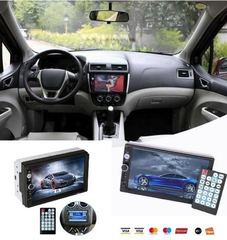 Central Multimídia Display Digital Bluetooth, Usb, Fm - Foto 12