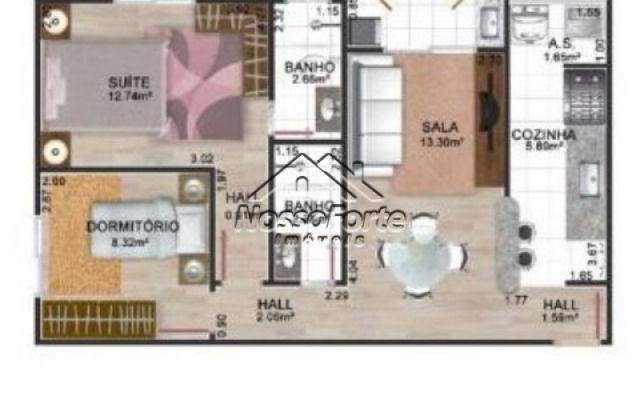 Lançamento Apartamento de frente para o mar no Jardim Real em Praia Grande - Foto 5