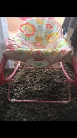 Cadeira Balanço Fisher Price - Foto 6