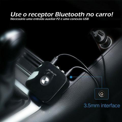 Receptor de Áudio Bluetooth V4.1 40201 It-Blue Rca Auxiliar P2 3.5 Som Smartphone Celular - Foto 6